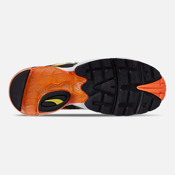 Bottom view of Men's Puma CELL Alien OG Casual Shoes in Yellow Alert/Flourescent Orange