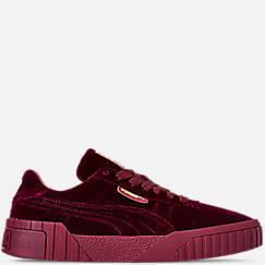 Women's Puma Cali Velvet Casual Shoes