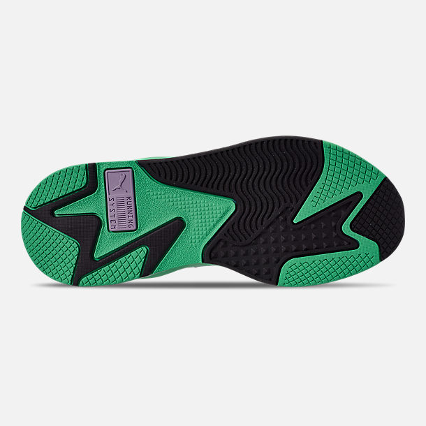 Bottom view of Men's Puma RS-X Tracks MTV Gradient Running Shoes