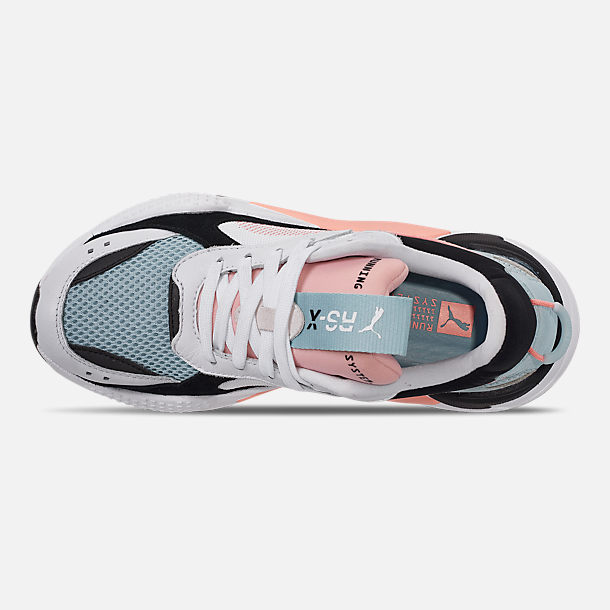 finest selection 45919 85a5f Top view of Women s Puma RS-X Reinvention Casual Shoes in Puma White Peach