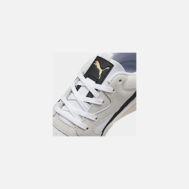 Front view of Women's Puma Aeon Heritage Casual Shoes in Puma White/Puma Black