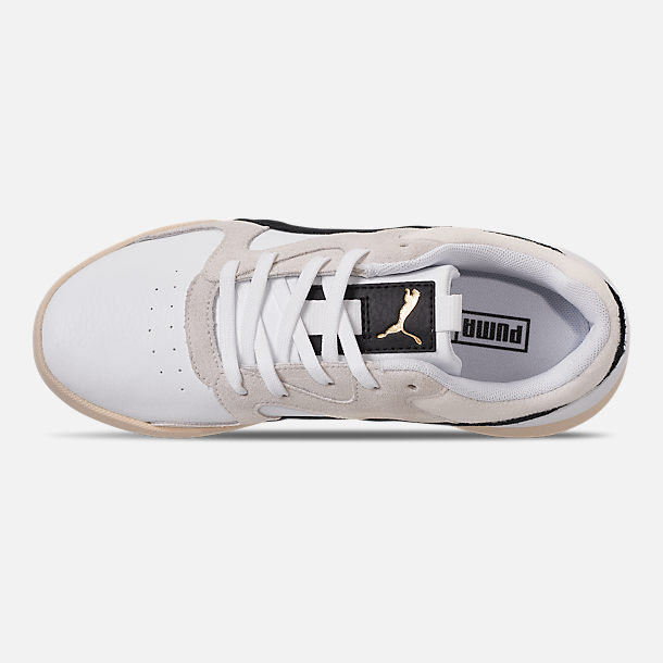 Top view of Women's Puma Aeon Heritage Casual Shoes in Puma White/Puma Black