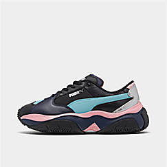Women's Puma STORM.Y Metallic Casual Shoes