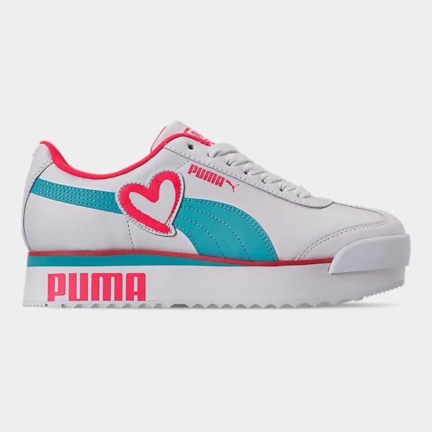 Fang Weg sparen begrenzter Preis Women's Puma Roma Amor Heart Casual Shoes