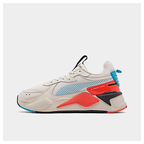 puma men's rsx ptnt casual shoes in white  modesens
