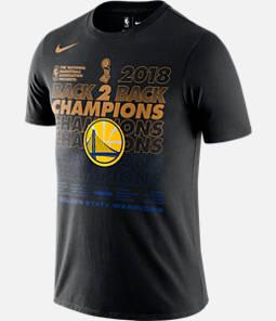 Men's Nike Golden State Warriors 2018 NBA Champs Locker Room T-Shirt