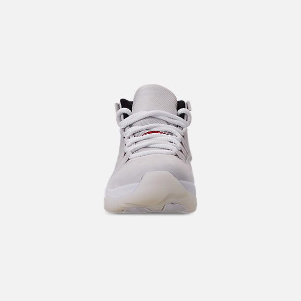 Front view of Men's Air Jordan Retro 11 Basketball Shoes