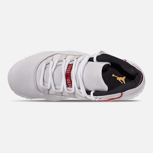 Top view of Men's Air Jordan Retro 11 Basketball Shoes