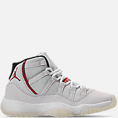 Big Kids' Air Jordan Retro 11 Basketball Shoes