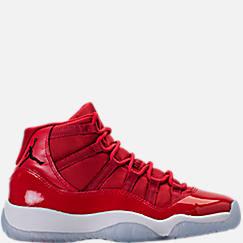 Boys' Grade School Air Jordan Retro 11 Basketball Shoes