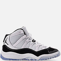 Little Kids' Air Jordan Retro 11 Low Basketball Shoes