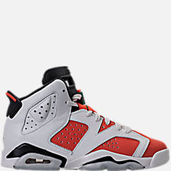 Kids' Grade School Air Jordan Retro 6 Basketball Shoes