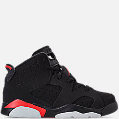 875258c31453d2 Little Kids  Air Jordan Retro 6 Basketball Shoes. 1