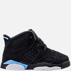 Kids' Toddler Air Jordan Retro 6 Basketball Shoes