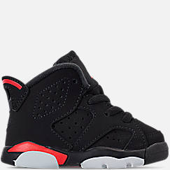online retailer adc6d 625bf Kids Toddler Air Jordan Retro 6 Basketball Shoes