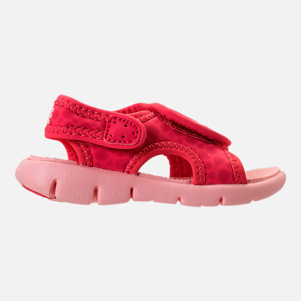 10125d7effa7 shopping right view of girls toddler nike sunray adjust 4 sandals in  tropical pink bleached 4df60