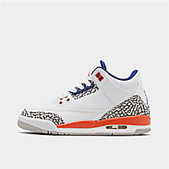 Big Kids' Air Jordan Retro 3 Basketball Shoes