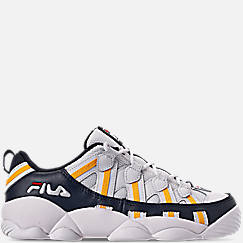 Boys' Big Kids' Fila Spaghetti Low Basketball Shoes