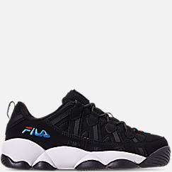 Boys' Big Kids' Fila Spaghetti Low Basketball Shoes