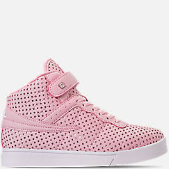 Girls' Grade School Fila Vulc 13 MP Stars Hook-and-Loop Casual Shoes