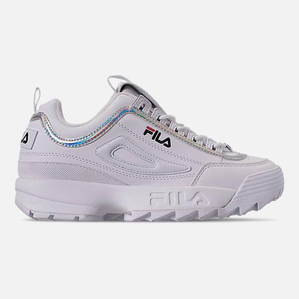 Right view of Big Kids' Fila Disruptor Iri Casual Shoes