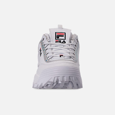 Front view of Big Kids' Fila Disruptor Iri Casual Shoes