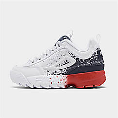Boys' Big Kids' Fila Disruptor Splatter Casual Shoes