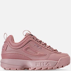 Girls' Big Kids' Fila Disruptor Patent Flag Casual Shoes
