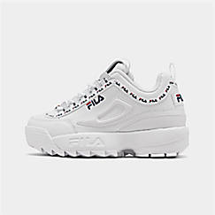 Boys' Big Kids' Fila Disruptor 2 Repeat Flag Casual Shoes