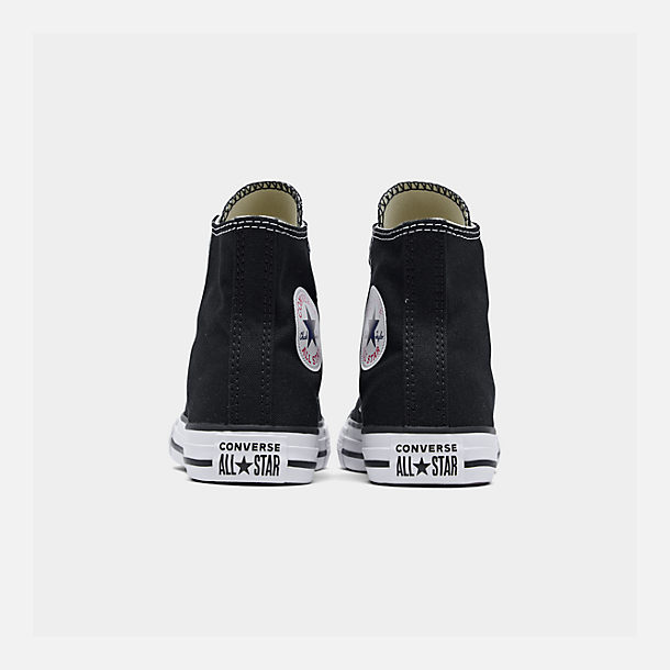 Left view of Little Kids' Converse Chuck Taylor Hi Top Casual Shoes in Black