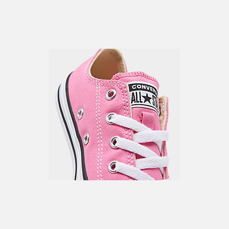Front view of Converse Preschool Chuck Taylor in Pink