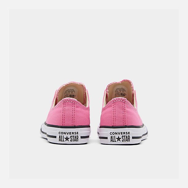 Left view of Converse Preschool Chuck Taylor in Pink