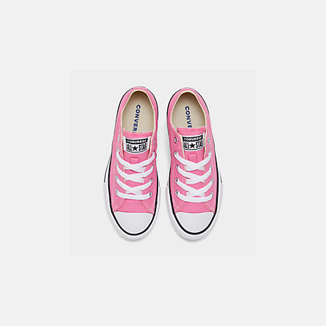 Back view of Converse Preschool Chuck Taylor in Pink