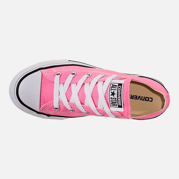 Top view of Converse Preschool Chuck Taylor in Pink
