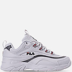 Big Kids' Fila Ray Casual Shoes