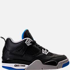 Kids' Grade School Air Jordan Retro 4 Basketball Shoes