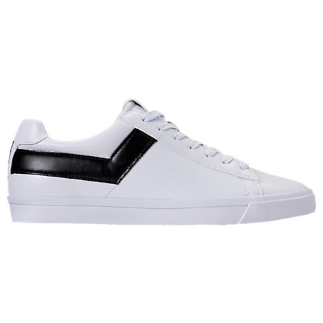 MEN'S PONY TOPSTAR CASUAL SHOES, WHITE