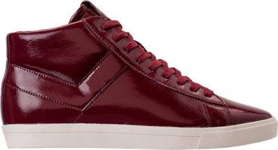 Pony Topstar Pebbled Patent High Mens Casual Shoes