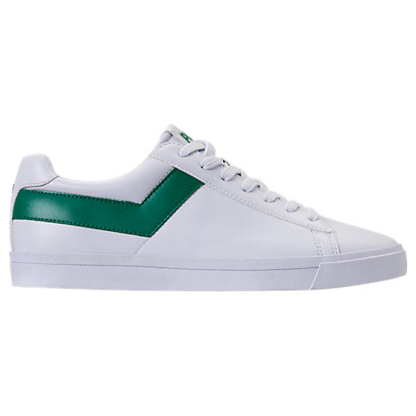 MEN'S PONY TOPSTAR LOW CASUAL SHOES, WHITE