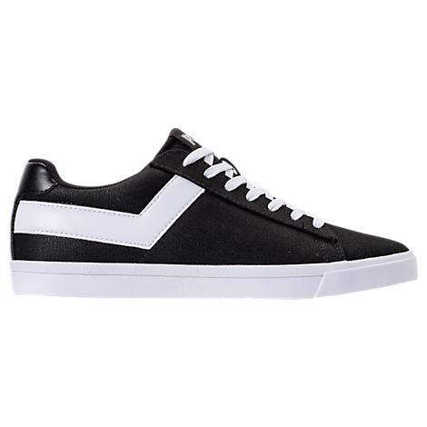 MEN'S PONY TOPSTAR LOW CASUAL SHOES, BLACK