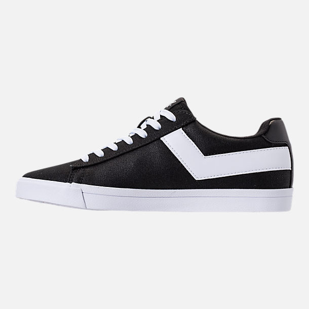 Left view of Men's Pony Topstar Low Casual Shoes