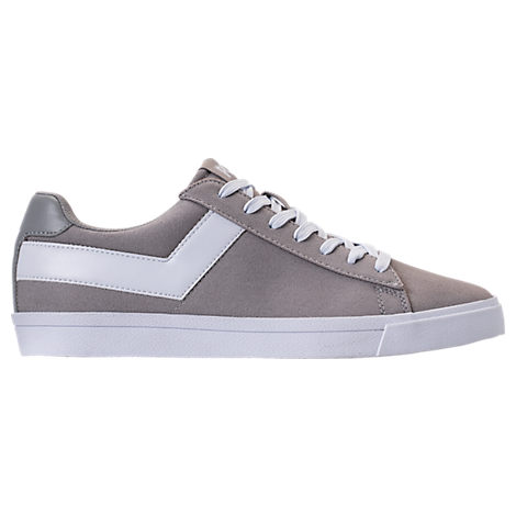 MEN'S PONY TOPSTAR LOW CASUAL SHOES, GREY