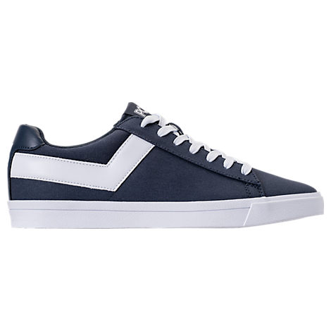 MEN'S PONY TOPSTAR LOW CASUAL SHOES, BLUE