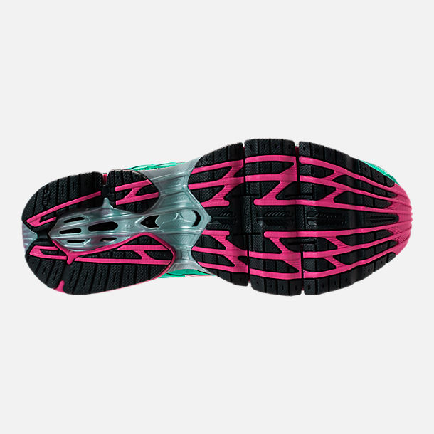 Bottom view of Women's Mizuno Wave Prophecy 7 Running Shoes in Billard/Pacific