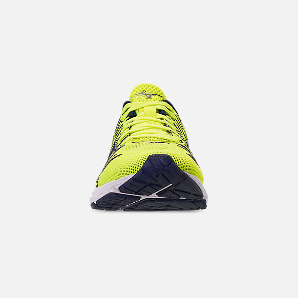 Front view of Men's Mizuno WaveKnit R2 Running Shoes in Flash/Maize