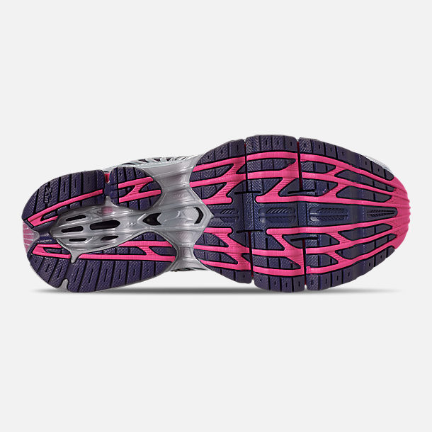 Bottom view of Women's Mizuno Wave Prophecy 8 Running Shoes in Quarry/Graphite