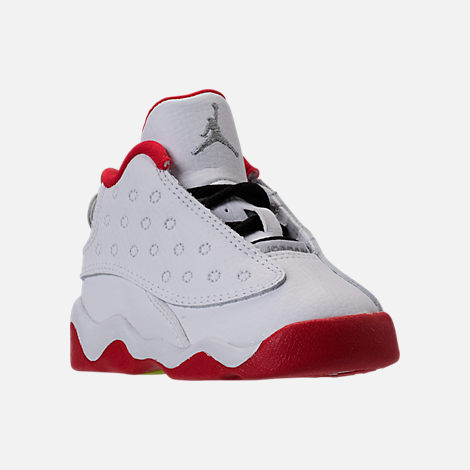 a99c33c825f Three Quarter view of Kids  Toddler Air Jordan Retro 13 Basketball Shoes