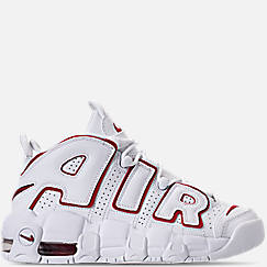Boys' Grade School Nike Air More Uptempo Basketball Shoes