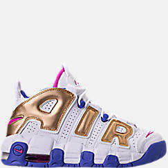 Girls' Grade School Nike Air More Uptempo Basketball Shoes