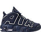 Boys' Grade School Nike Air More Uptempo Basketball Shoes